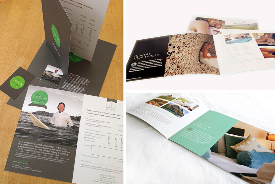 Retallack Resort Brochure Design Cornwall