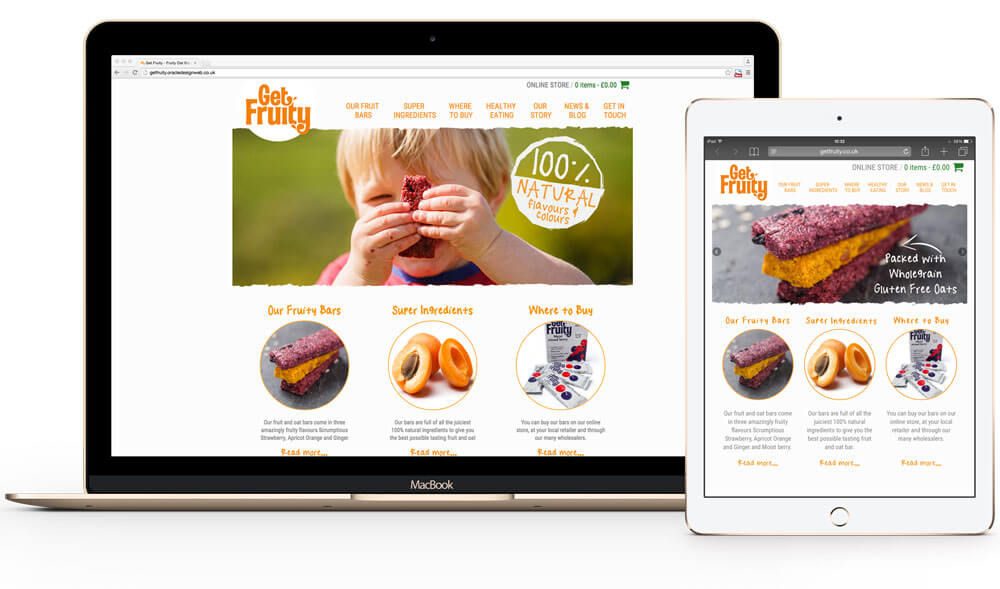 Get Fruity Website Design Development