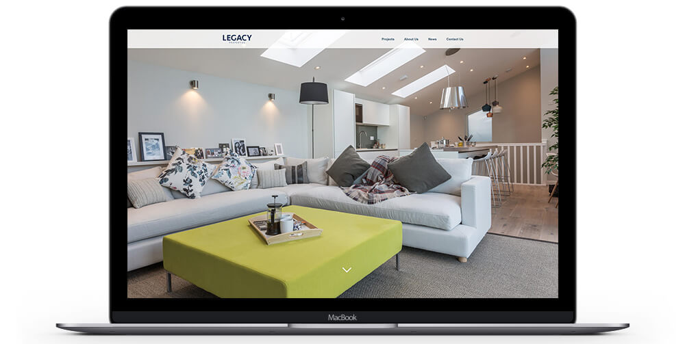 Legacy Properties - Website Design by Oracle Design
