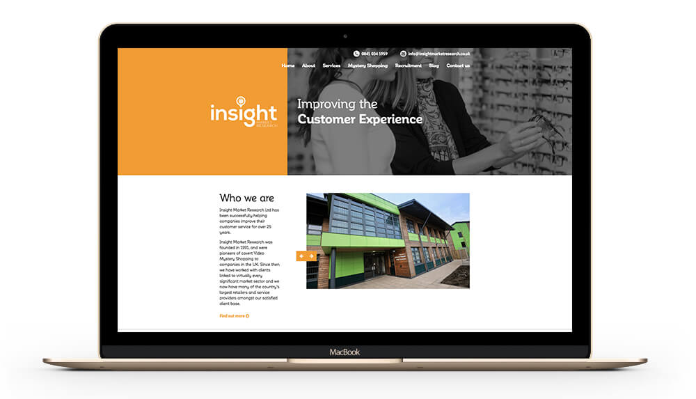 Insight Market Research - Web Design and Development
