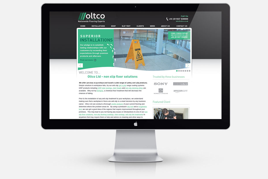 Oltco Web Design Newquay