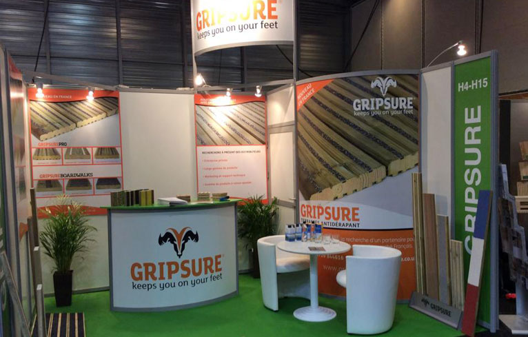 Gripsure Exhibition Stand Design