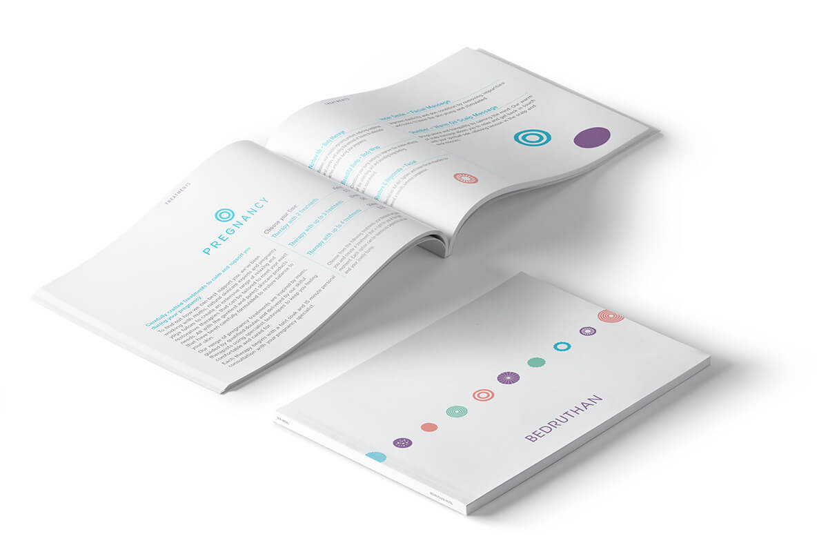Bedruthan Spa Brochure Design