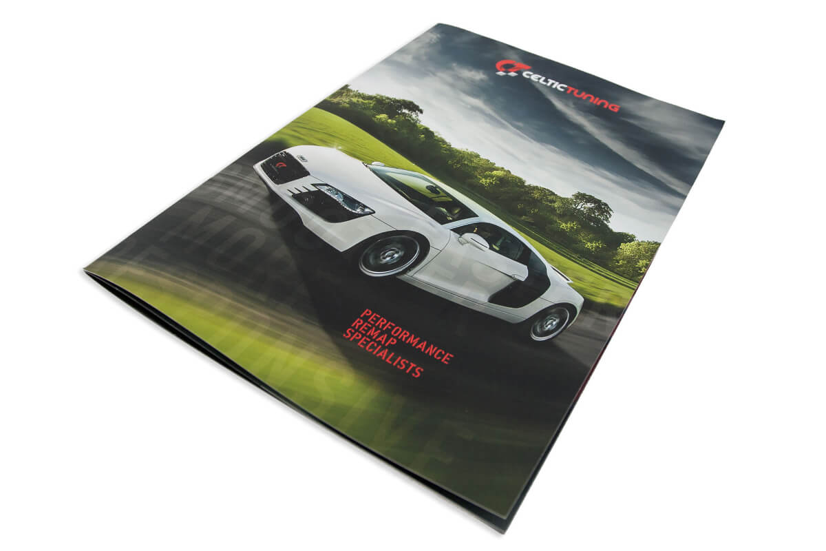 Celtic Tuning Dealer - Brochure Design