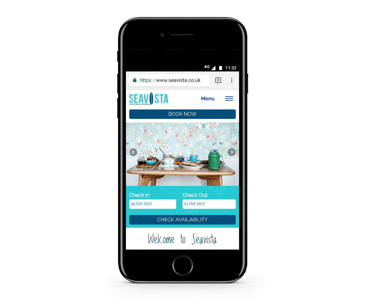Seavista Mobile Website