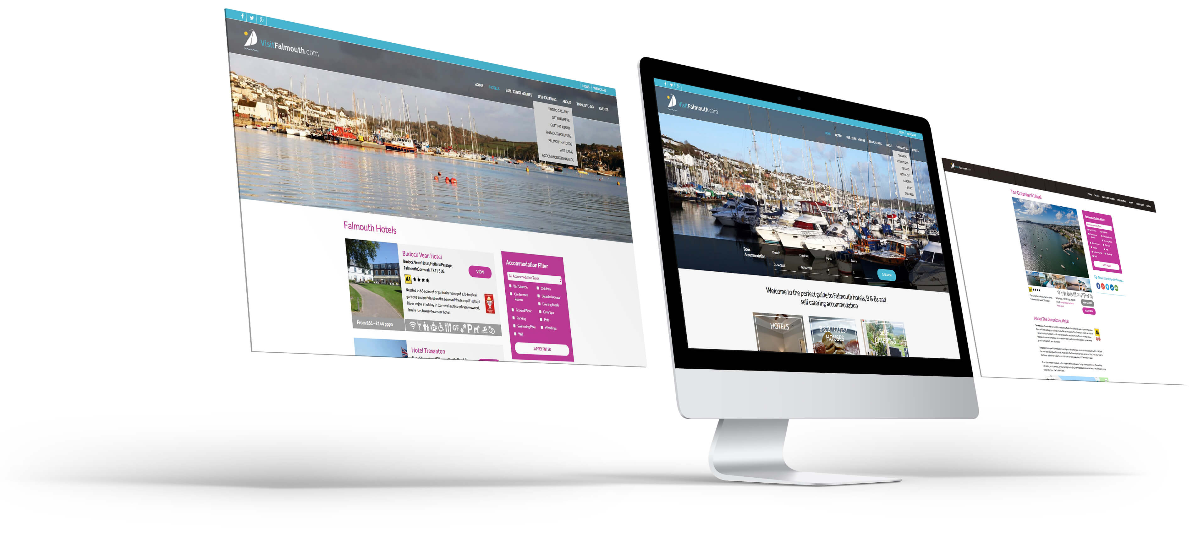 Website Visuals - Visit Falmouth