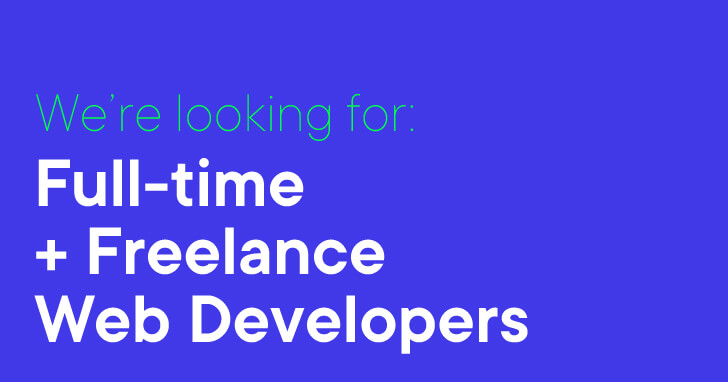 Freelance full time web dev Web - Full-time + Freelance Web Developer Cornwall