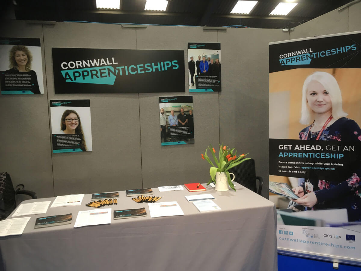 Corrnwall Apprenticeships Roller Banners - Cornwall Apprenticeships
